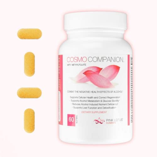 cosmo companion bottle with tablets