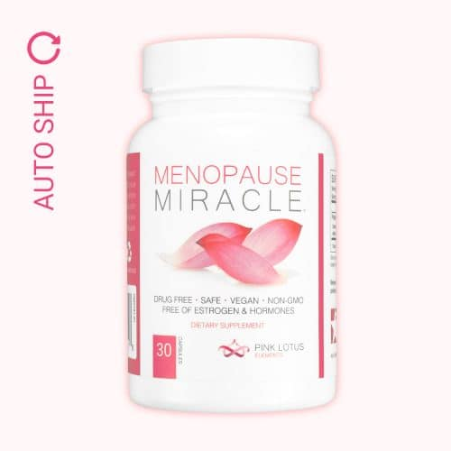 menopause miracle auto ship bottle front view