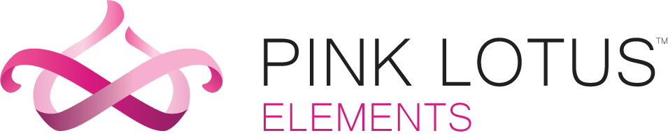 pink lotus elements logo in color