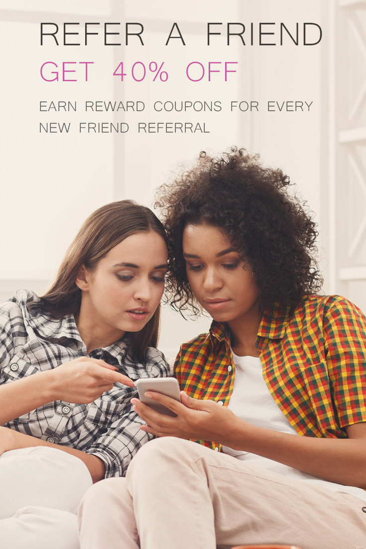 The Elements Life Refer A Friend program is a great way to earn 40% Off coupons for every friend you refer to our store. #ElementsLife
