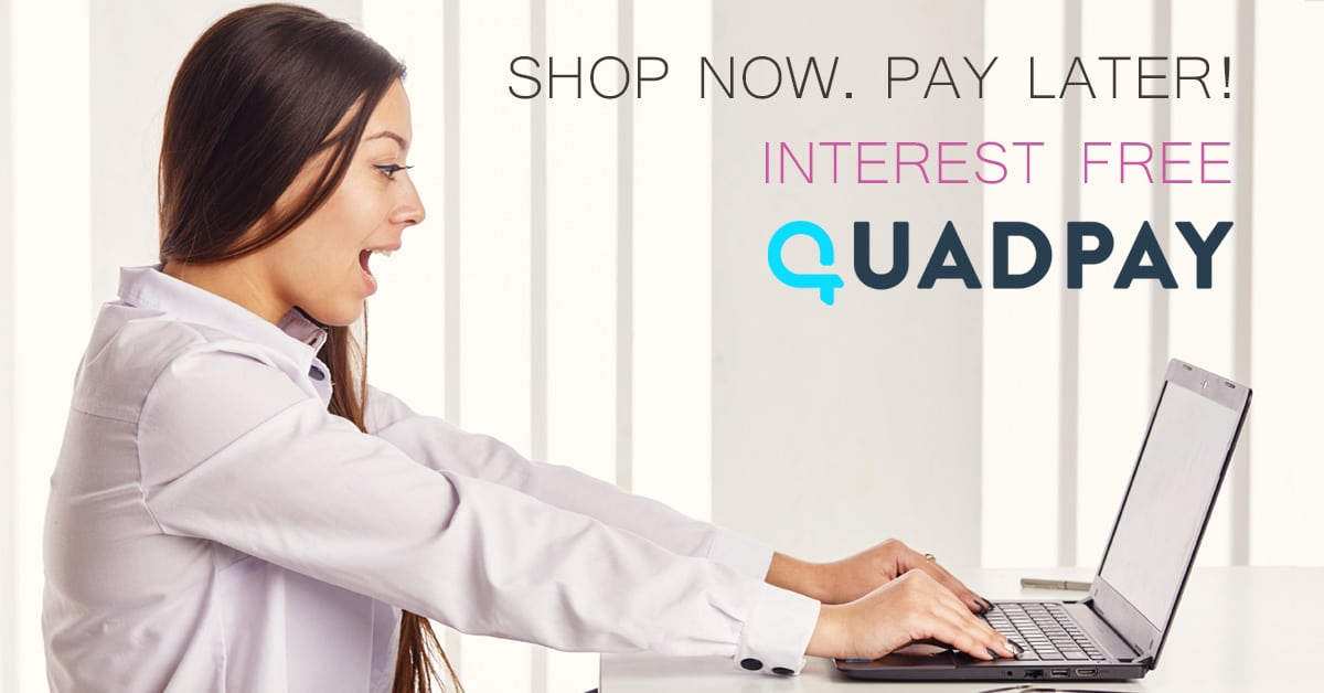 Shop Now, Pay Later with QuadPay ~ Pink Lotus Elements