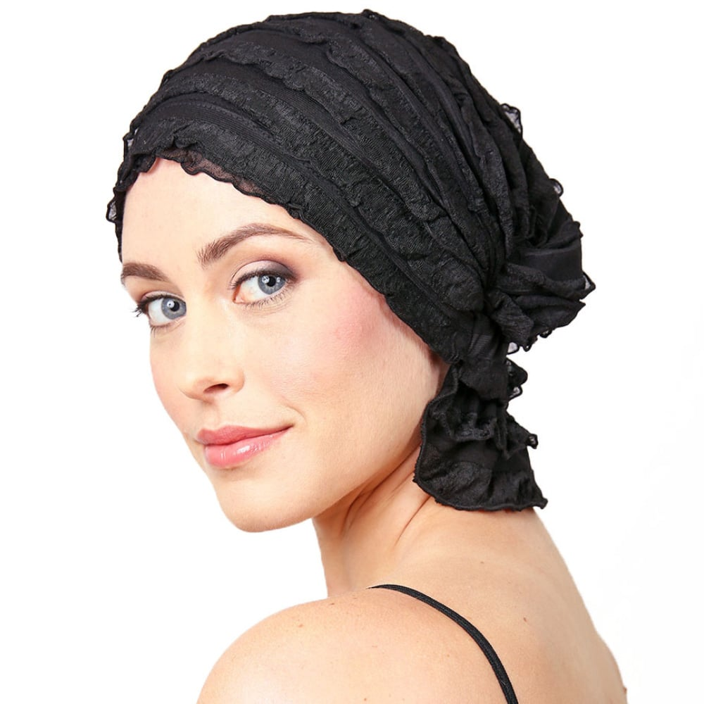 656cb1139cc7c Chemo Beanies® - Headwear Covers for Hair Loss ~ Pink Lotus Elements