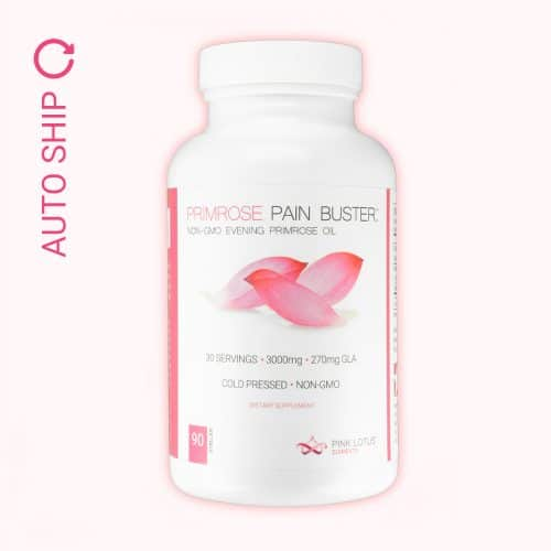 evening primrose relief auto ship bottle front view