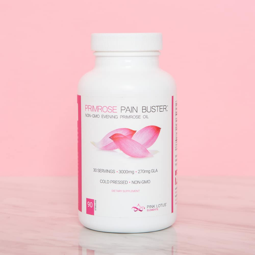 Primrose Pain Buster™ - Relief for PMS & Breast Discomfort
