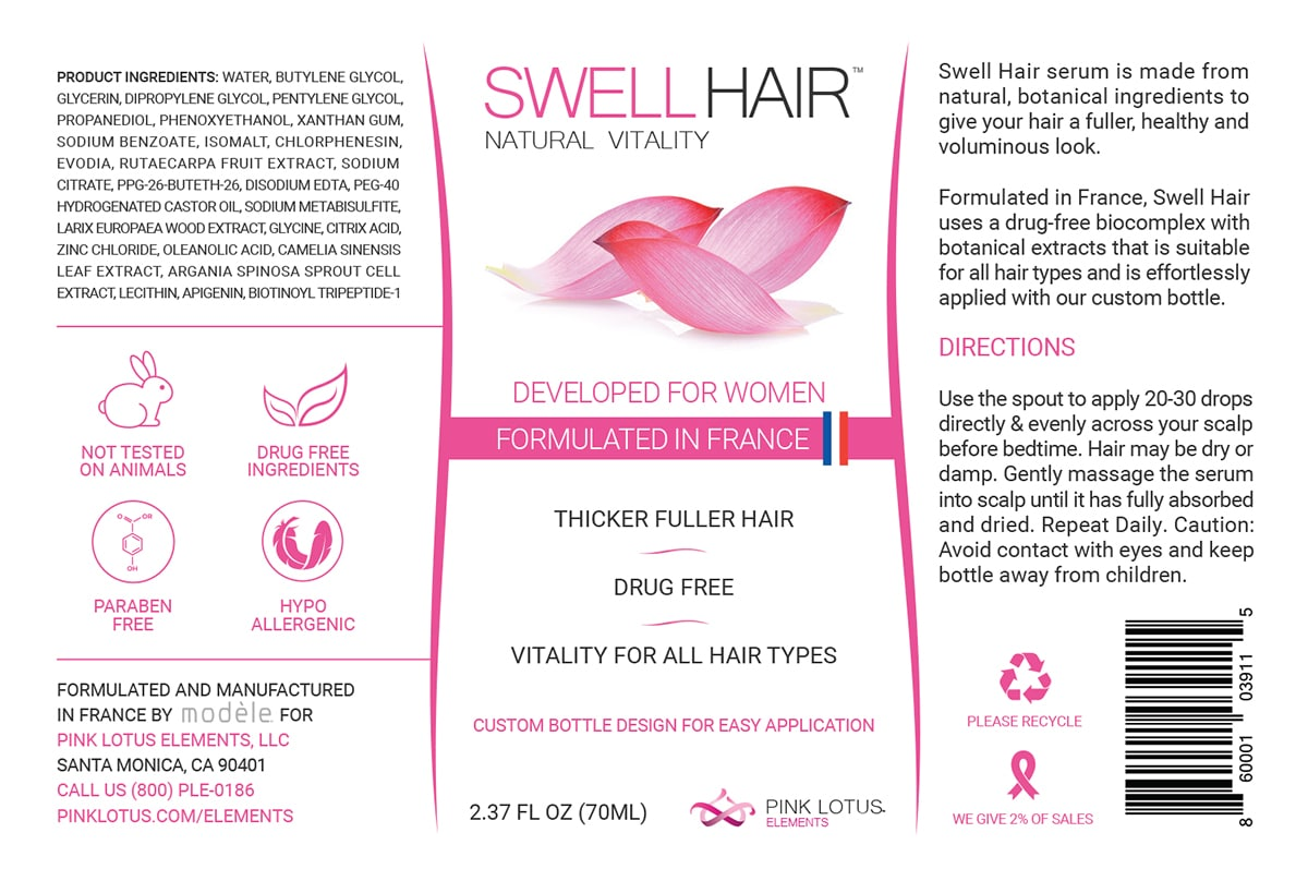 Swell Hair™ - Natural Vitality for Flat & Dull Hair