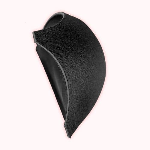 foob breast insert black side view