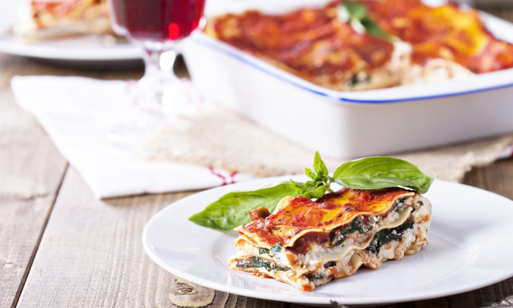 cancer kicking kitchen dreamy lasagna recipe