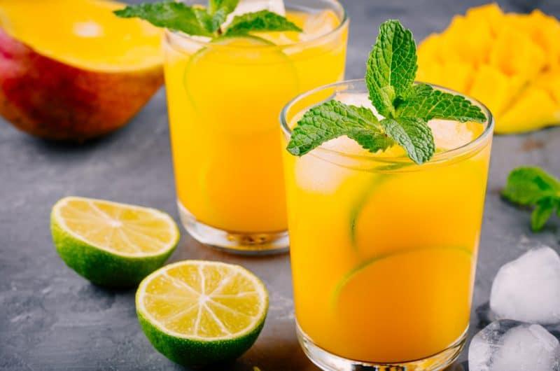 Mango Mule Mocktail
