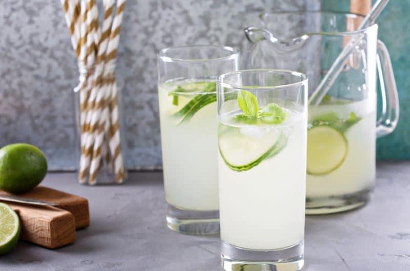 Cucumber Cooler Mocktail