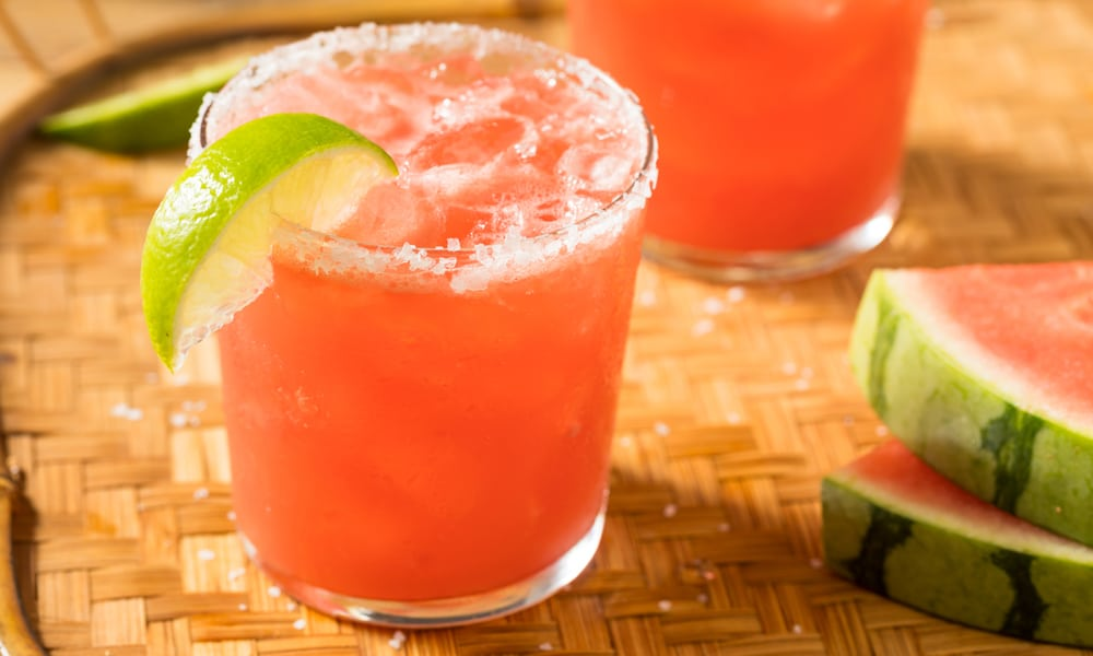 cancer kicking kitchen watermelon mockarita with lime